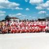 Equipa de Juniores Campeões Distritais 2ª Divisão, na época de 1995/1996