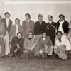 """Diretores e Seccionistas na inauguração da atual sede d""""Os Águias"""", em 7 de setembro de 1974"""