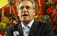 Jerónimo de Sousa em almoço de Natal de Alpiarça