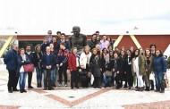 Projeto Erasmus+ - Clube Europa - traz alunos para conhecer Alpiarça