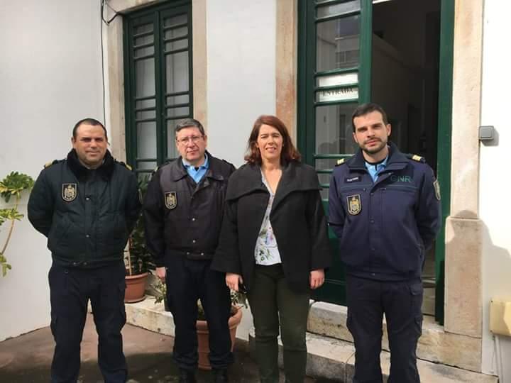 CDS visita GNR de Alpiarça